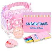 Ice Cream Party Filled Favor Box (4-Pack)