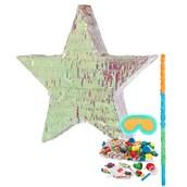 Iridescent Star Foil Pinata Kit