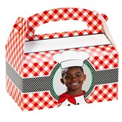 Itzza Pizza Party Personalized Empty Favor Boxes (8)