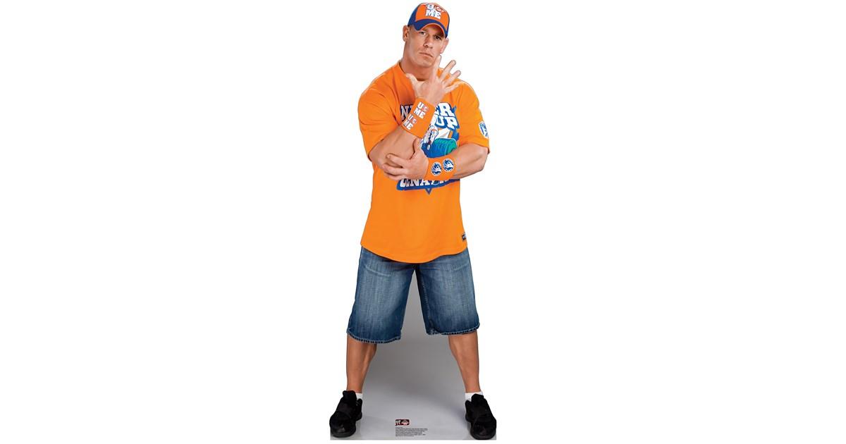John Cena Wwe Standup 6 Tall Birthdayexpress Com
