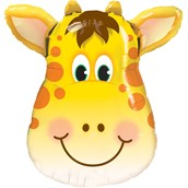 Jolly Giraffe Shaped Jumbo Foil Balloon