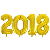 Jumbo Gold Foil Balloons-2018