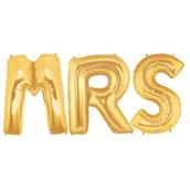 Jumbo Gold Foil Balloons-MRS