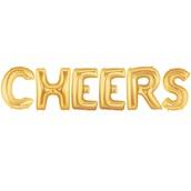 Jumbo Gold Foil-CHEERS