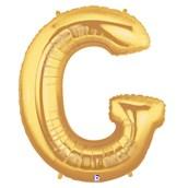 Jumbo Gold Foil Letter-G