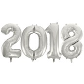 Jumbo Silver Foil Balloons-2018