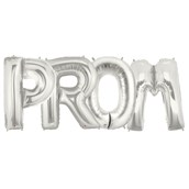 Jumbo Silver Foil Balloons-PROM