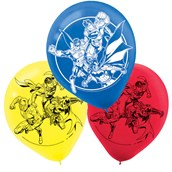 Justice League Latex Balloons (6)