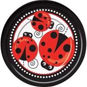 Ladybug 9 Luncheon Plates (8)