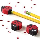 Ladybug Eraser Toppers