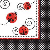 Ladybug Luncheon Napkins (16)