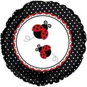 Ladybug Party Mylar Balloon (each)