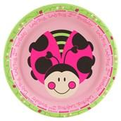Ladybugs: Oh So Sweet 2nd Birthday Dinner Plates