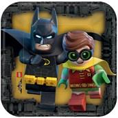"Lego Batman 7"" Cake Plates (8)"