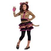 Leopard Hoodie Kids Costume