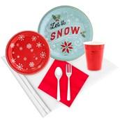 Let It Snow! 24 Guest Party Pack