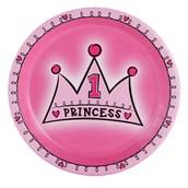 Lil' Princess 1st Birthday Dinner Plates