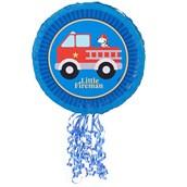 Little Fireman Pull-String Pinata