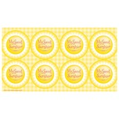 Little Sunshine Party Small Lollipop Sticker Sheet