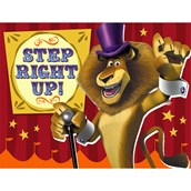Madagascar 3 Invitations