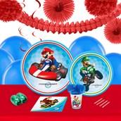 Mario Kart Wii 16 Guest Tableware & Deco Kit