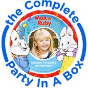 Max and Ruby Personalized Party in a Box