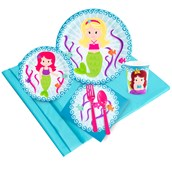Mermaids 24 Guest Party Pack