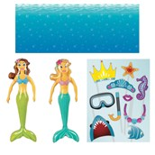 Mermaids Inflatable Prop Kit