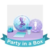 Mermaids Under the Sea Party in a Box For 16