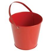 Metal Bucket - Red