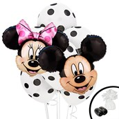 Mickey & Minnie Jumbo Balloon Bouquet