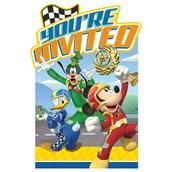 Mickey Roadster Invitations (8)