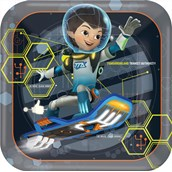 Miles From Tomorrowland Square Dinner Plates