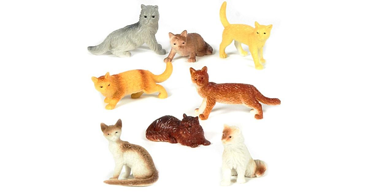 Mini Cat Figurines Assorted Birthdayexpress Com