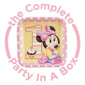 Minnie Mouse 1st Birthday Party in a Box