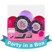 Mis Quince Anos Party In a Box For 8