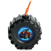 Molded Tire Cup with Farm Tractor Stickers.  Choose from 1. 4, 8, or 16 piece packs