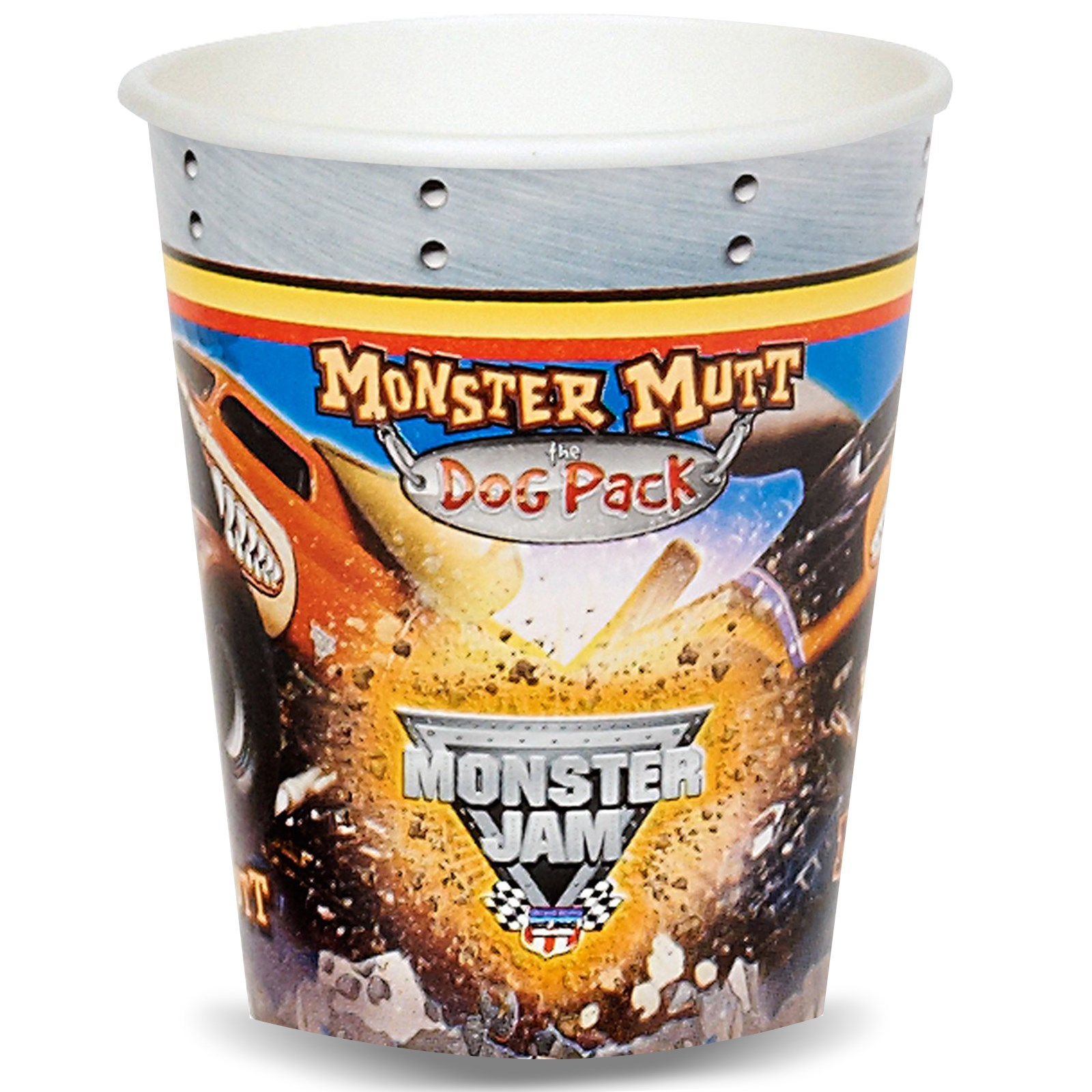 Monster Jam Paper Cups