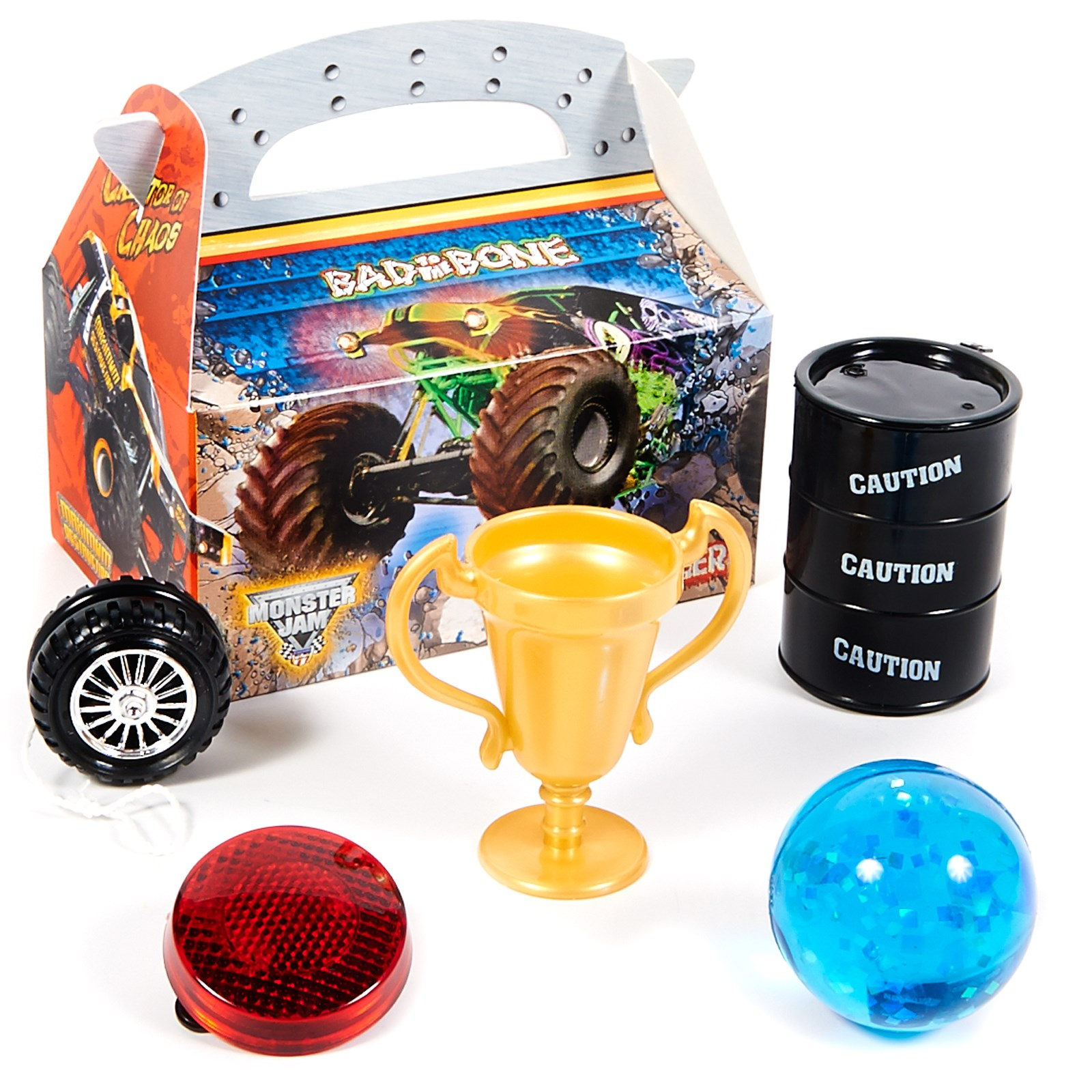 Monster Jam Party Favor Box