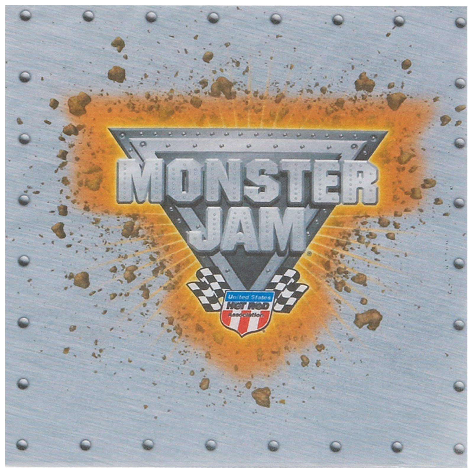 Monster Jam Lunch Napkins