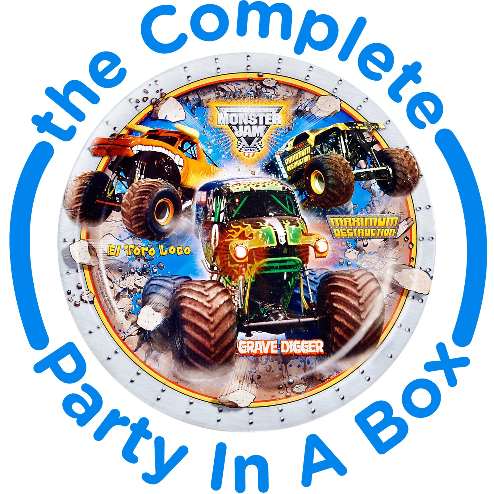 Monster Jam 3D Party Supplies
