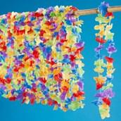 "Multi Colored 36"" Flower Leis"
