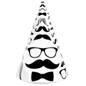 Mustache Cone Hats (8)