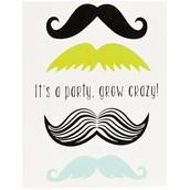 Mustache Man Invitations