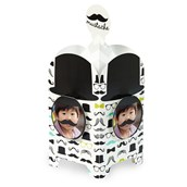 Mustache Man Personalized Centerpiece