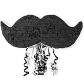 Mustache Pull-String Pinata