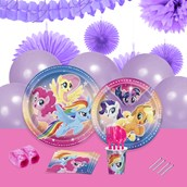 My Little Pony Flying Ponies 16 Guest Party Pack + Deco Kit