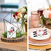 My Mind's Eye Botanical Wedding - Guest Table Decor Set