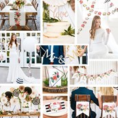 My Mind's Eye Botanical Wedding - Head/Guest/Cake Table Decor Set