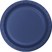 Navy Dinner Plates